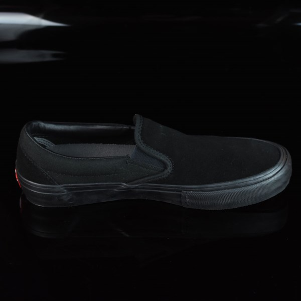 Vans Slip On Pro Shoes Blackout Rotate 3 O'Clock