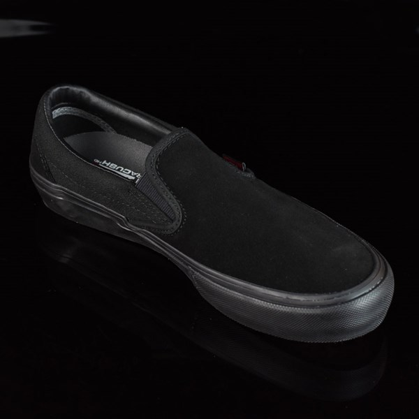 Vans Slip On Pro Shoes Blackout Rotate 4:30