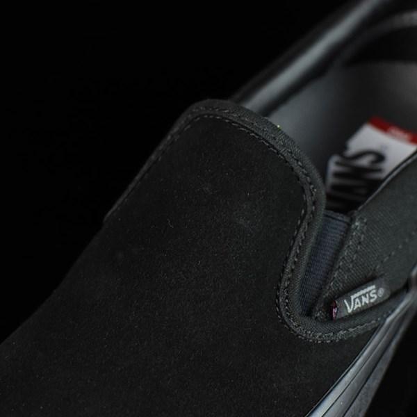 Vans Slip On Pro Shoes Blackout Tongue