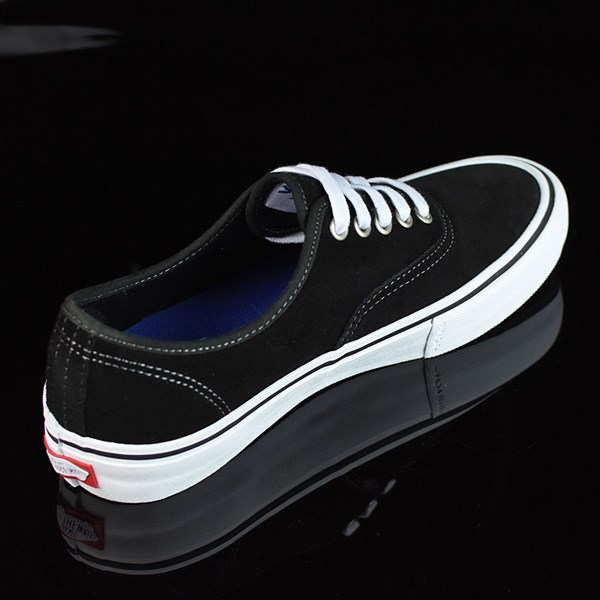 Vans Authentic Pro Shoes Black Suede, White Rotate 1:30