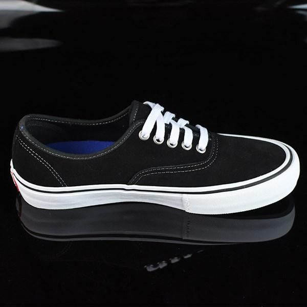 Vans Authentic Pro Shoes Black Suede, White Rotate 3 O'Clock