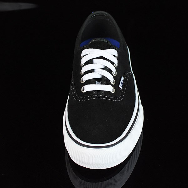 Vans Authentic Pro Shoes Black Suede, White Rotate 6 O'Clock