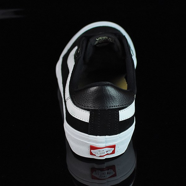 Vans Style 112 Pro Shoes Black, Black, White Rotate 12 O'Clock