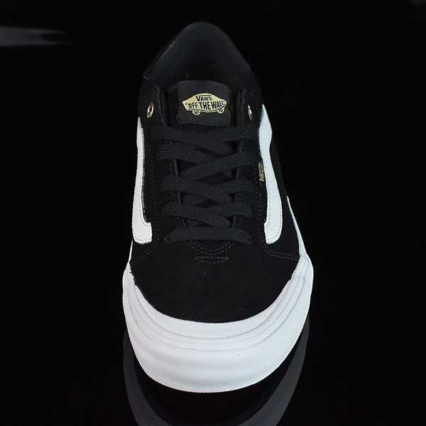 Vans Style 112 Pro Shoes Black, Black, White Rotate 6 O'Clock