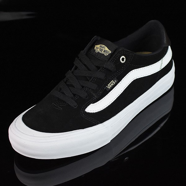Vans Style 112 Pro Shoes Black, Black, White Rotate 7:30