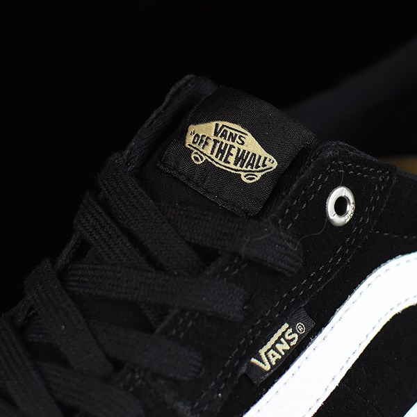 Vans Style 112 Pro Shoes Black, Black, White Tongue
