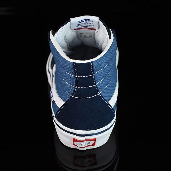 Vans Sk8-Hi Pro Shoes Navy, White Rotate 12 O'Clock