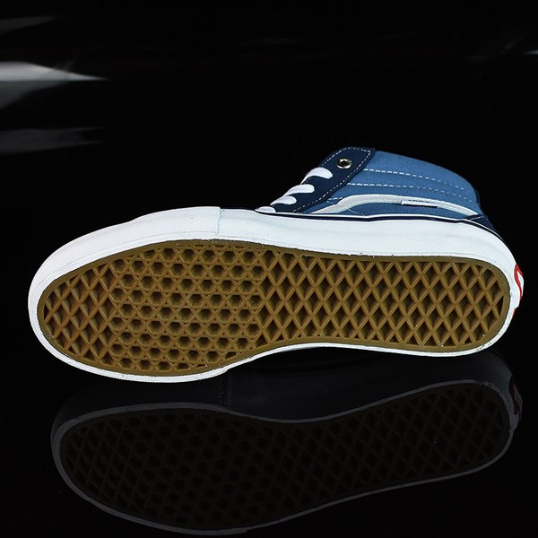 Vans Sk8-Hi Pro Shoes Navy, White Sole