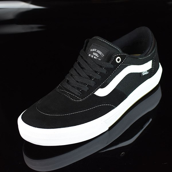 Vans Gilbert Crockett Pro 2 Shoes Black, White Rotate 7:30