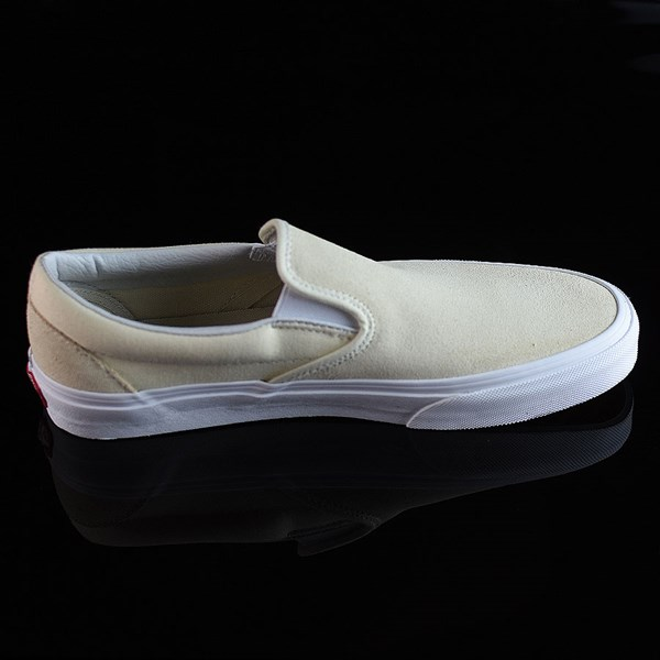 Vans Classic Slip On Shoes Afterglow, White Rotate 3 O'Clock