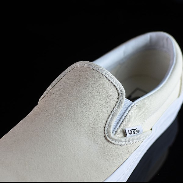Vans Classic Slip On Shoes Afterglow, White Tongue