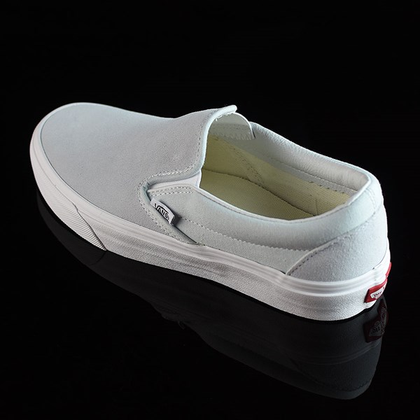 Vans Classic Slip On Shoes Illusion Blue, White Rotate 7:30