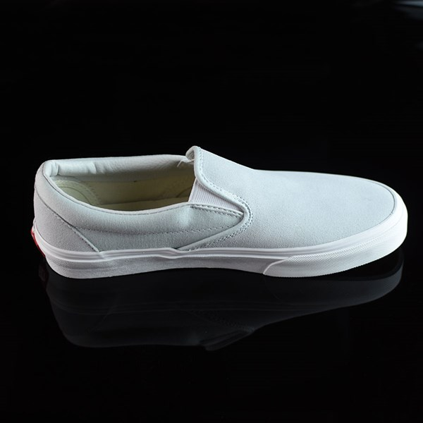Vans Classic Slip On Shoes Illusion Blue, White Rotate 3 O'Clock