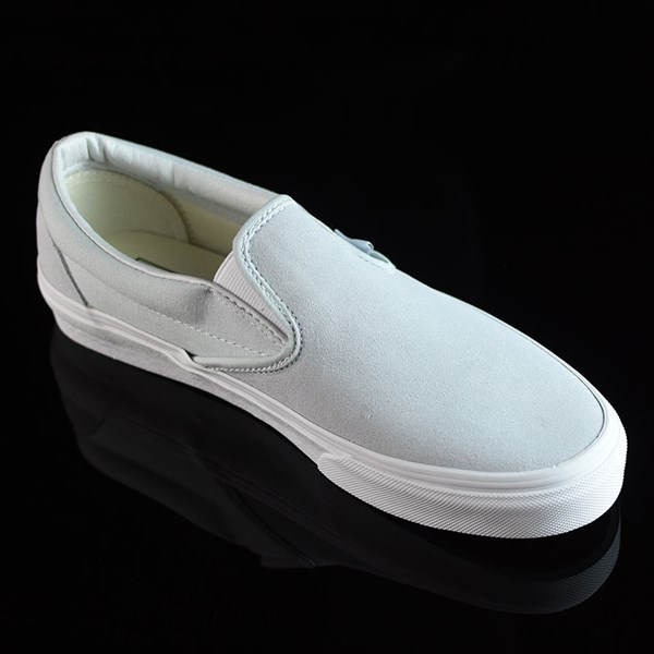 Vans Classic Slip On Shoes Illusion Blue, White Rotate 4:30