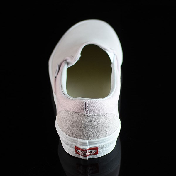 Vans Classic Slip On Shoes Orchard Ice, White Rotate 12 O'Clock