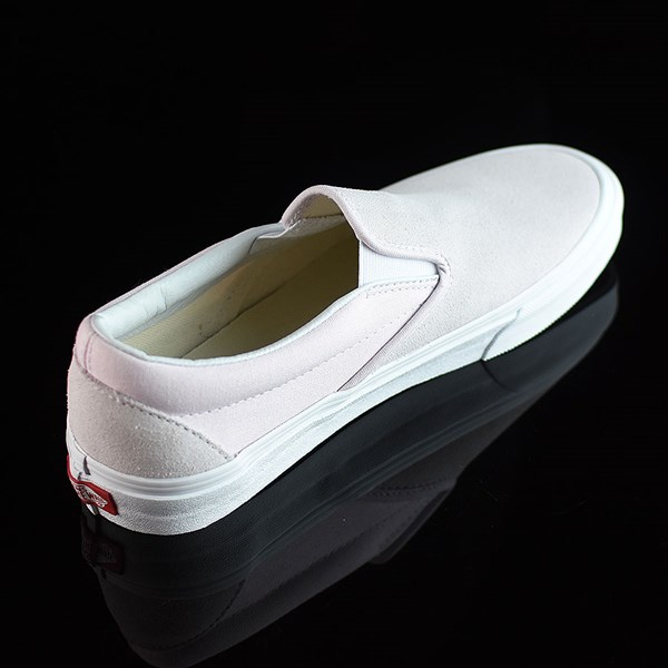 Vans Classic Slip On Shoes Orchard Ice, White Rotate 1:30