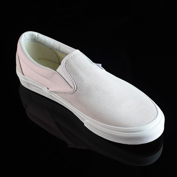 Vans Classic Slip On Shoes Orchard Ice, White Rotate 4:30