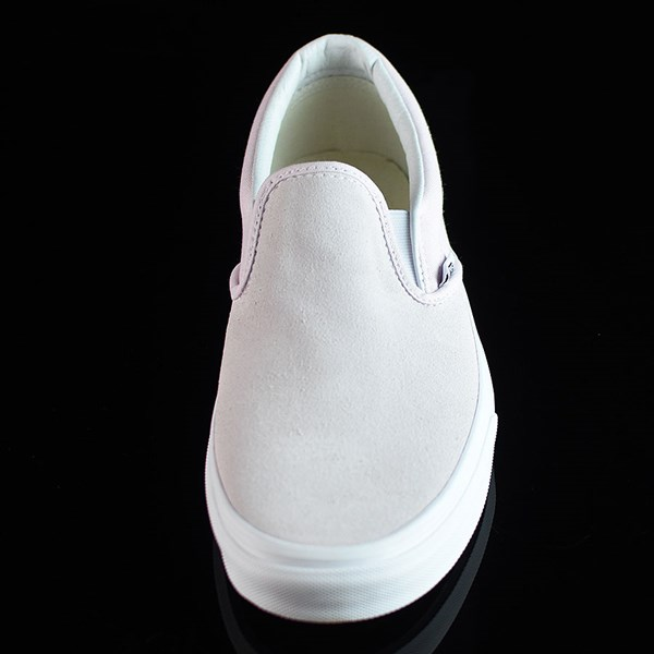 Vans Classic Slip On Shoes Orchard Ice, White Rotate 6 O'Clock