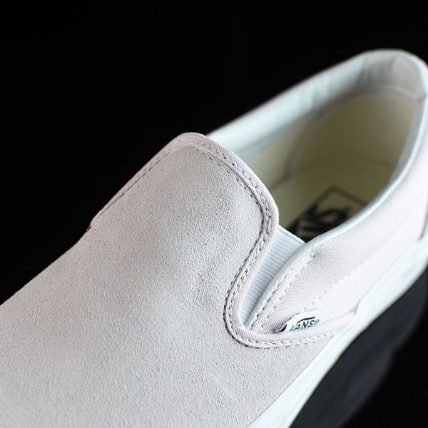Vans Classic Slip On Shoes Orchard Ice, White Tongue