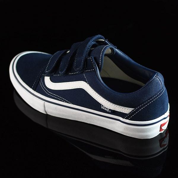 Vans Old Skool V Pro Shoes Navy, White Rotate 7:30