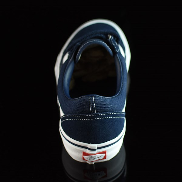 Vans Old Skool V Pro Shoes Navy, White Rotate 12 O'Clock