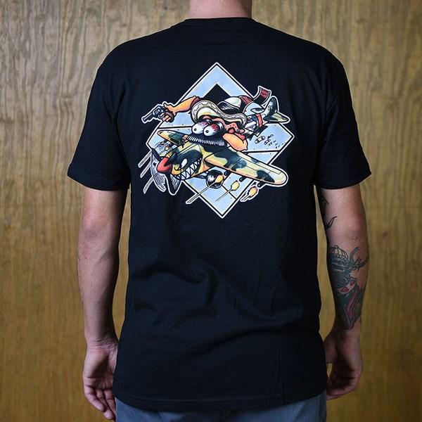 The Boardr Gunner T Shirt Black Back