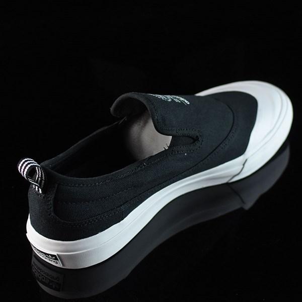 adidas Matchcourt Slip Shoes Black, White Rotate 1:30