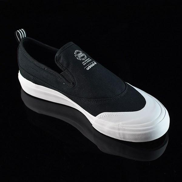 adidas Matchcourt Slip Shoes Black, White Rotate 4:30