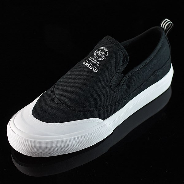 adidas Matchcourt Slip Shoes Black, White Rotate 7:30