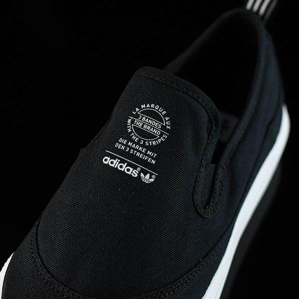 adidas Matchcourt Slip Shoes Black, White Tongue