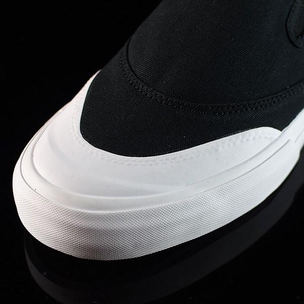 adidas Matchcourt Slip Shoes Black, White Closeup