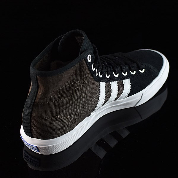 new styles ea674 9c3c6 ... adidas Matchcourt High RX Shoes Black, Brown, White Rotate 130 ...