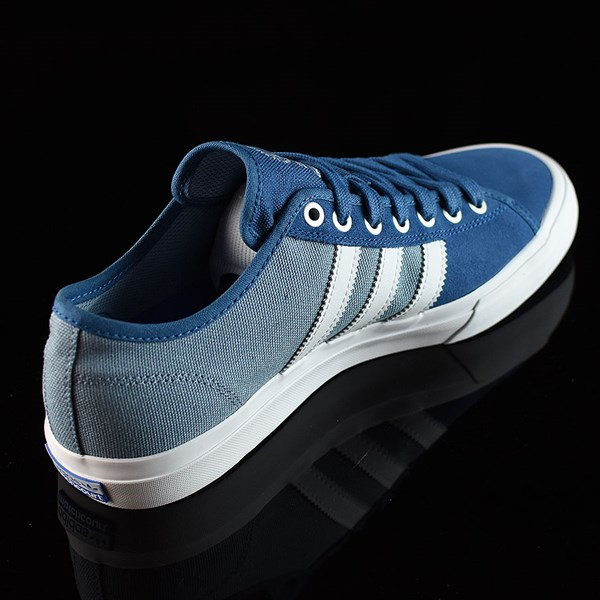 adidas Matchcourt Low RX Shoes Core Blue, White, Tactical Blue Rotate 1:30