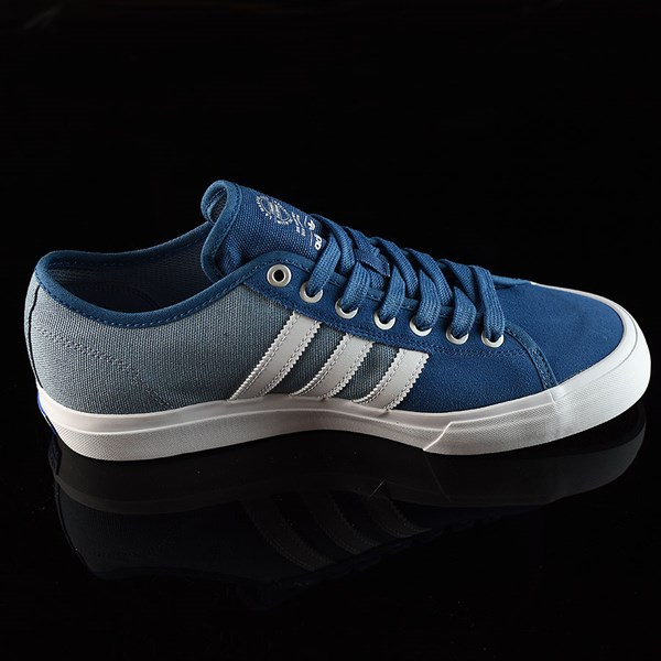 adidas Matchcourt Low RX Shoes Core Blue, White, Tactical Blue Rotate 3 O'Clock