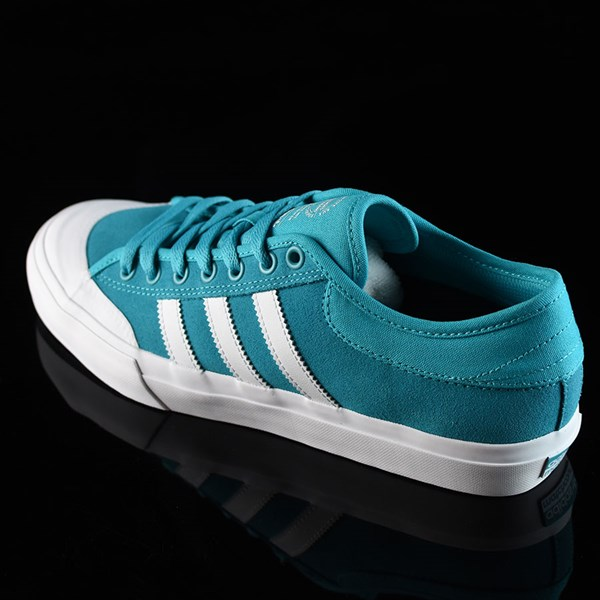 adidas Matchcourt Low Shoes Energy Blue, White Rotate 7:30