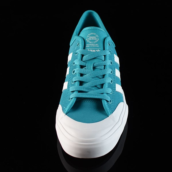 adidas Matchcourt Low Shoes Energy Blue, White Rotate 6 O'Clock