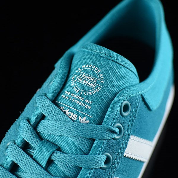 adidas Matchcourt Low Shoes Energy Blue, White Tongue