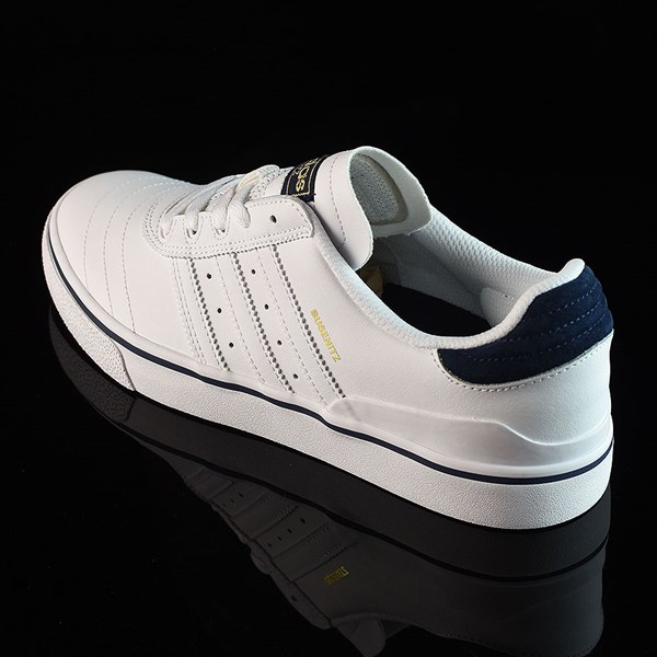 adidas Dennis Busenitz Vulc Shoes Running White, White, Navy Rotate 7:30