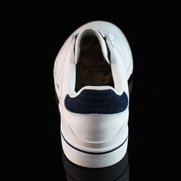 adidas Dennis Busenitz Vulc Shoes Running White, White, Navy Rotate 12 O'Clock