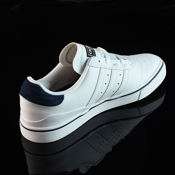 adidas Dennis Busenitz Vulc Shoes Running White, White, Navy Rotate 1:30