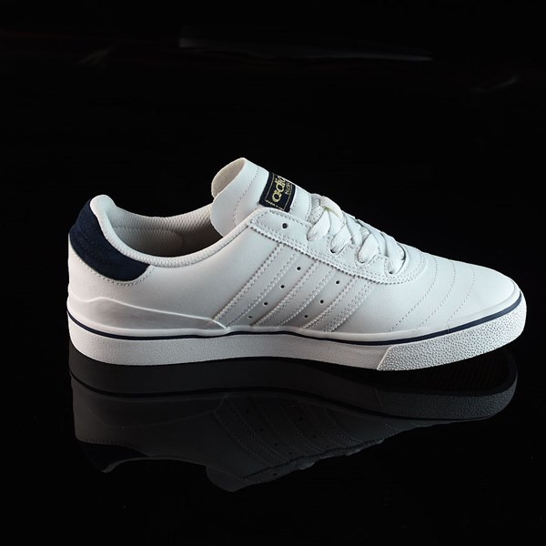 adidas Dennis Busenitz Vulc Shoes Running White, White, Navy Rotate 3 O'Clock