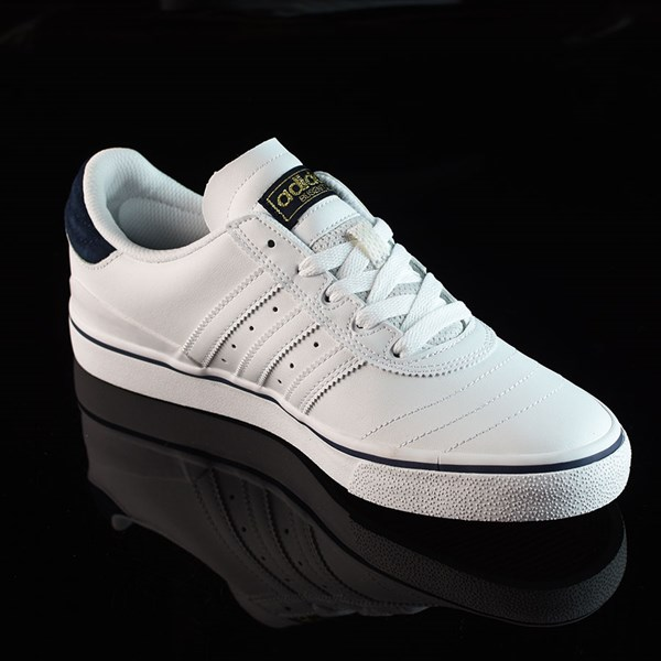 adidas Dennis Busenitz Vulc Shoes Running White, White, Navy Rotate 4:30