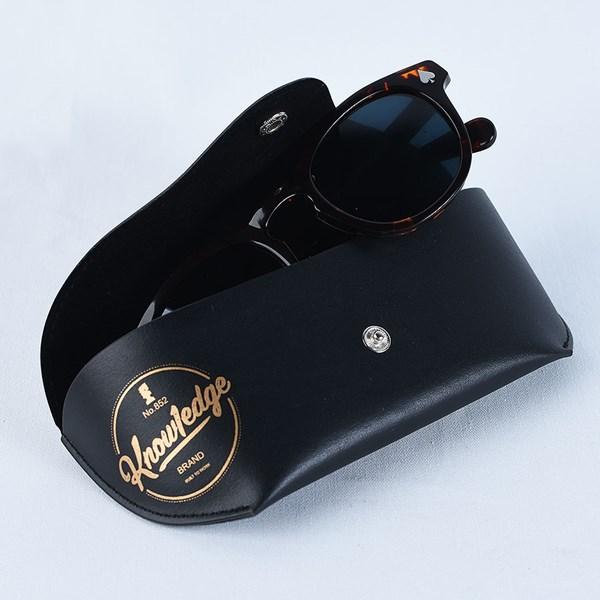 Doom Sayers Knowledge X DSC Sunglasses Tortoise Shell Case