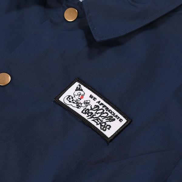 Doom Sayers We Appreciate Coaches Jacket Navy Detail