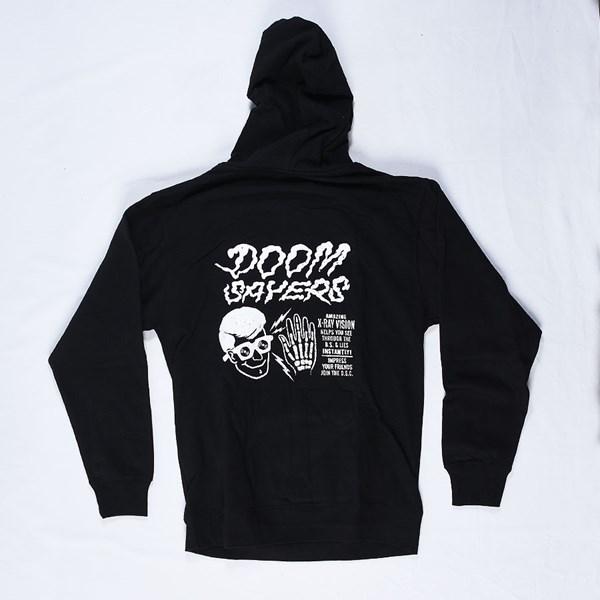 Doom Sayers X-Ray Vision Hoodie Black Back