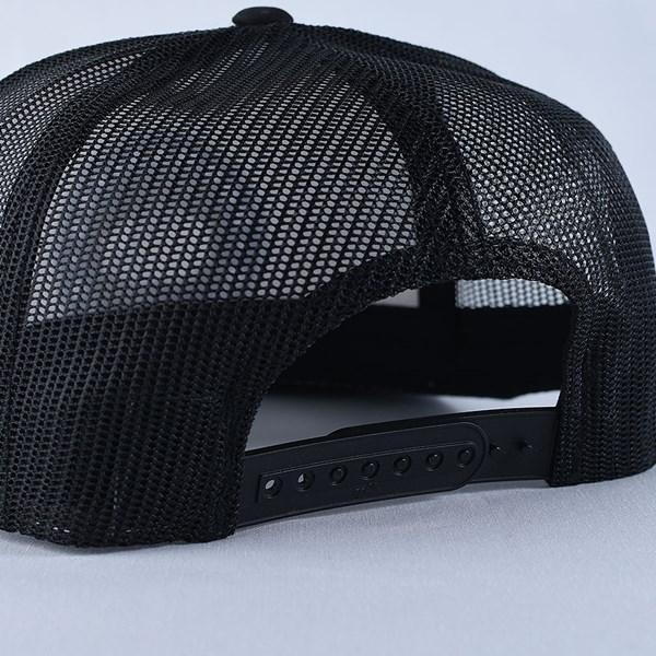 Doom Sayers Poker Chip Trucker Hat Black, White Back