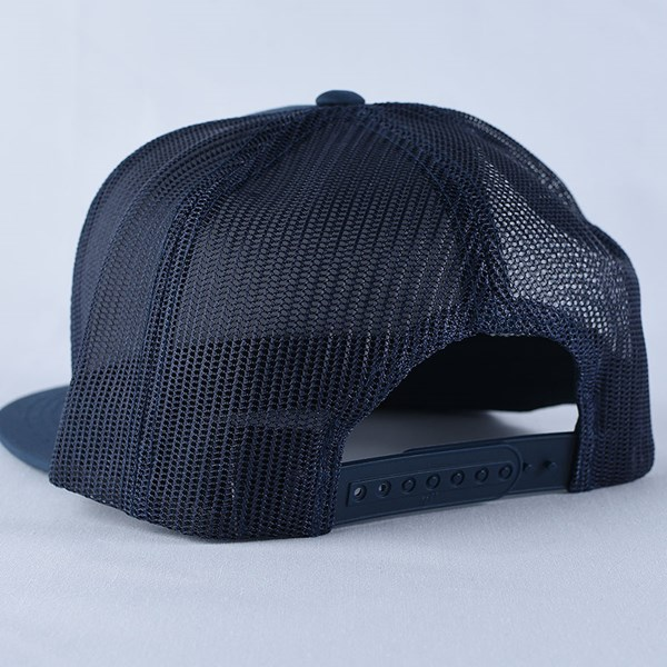 Doom Sayers Corp Guy Trucker Hat Navy Back