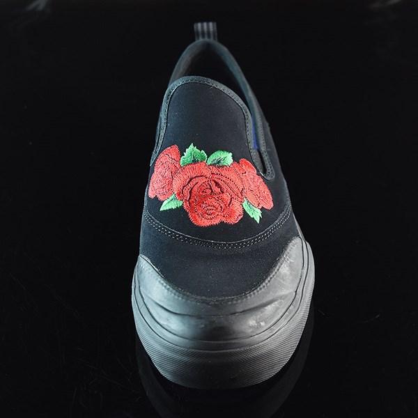 adidas Na-Kel Smith Matchcourt Slip Shoes Core Black, Scarlet, Light Purple Rotate 6 O'Clock