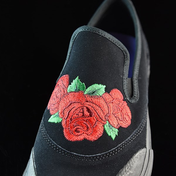 adidas Na-Kel Smith Matchcourt Slip Shoes Core Black, Scarlet, Light Purple Tongue