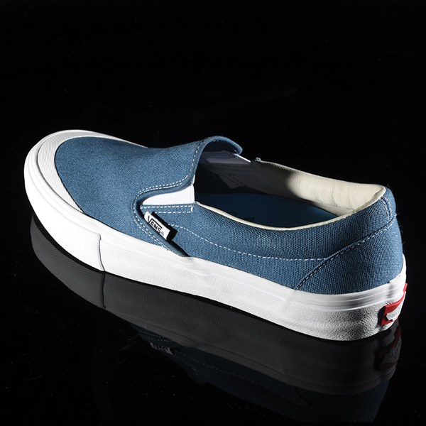 Vans Slip On Pro Shoes Navy (Andrew Allen) Rotate 7:30